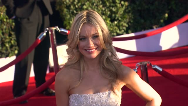 Katrina Bowden at 18th Annual Screen Actors Guild Awards Arrivals on 1/29/2012 in Los Angeles CA