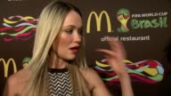 INTERVIEW Katrina Bowden on the McDonald's packaging designs on the occasion for the World Cup shares tips for couples watching the world cup her TV...