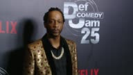 Katt Williams at Netflix Presents 'Def Comedy Jam' 25 Anniversary Special Arrivals at The Beverly Hilton Hotel on September 10 2017 in Beverly Hills...