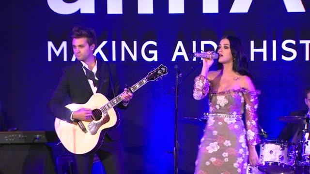 Katy Perry at amfAR's Inspiration Gala Los Angeles on 10/11/12 in Los Angeles CA PERFORMANCE Katy Perry at amfAR's Inspiration Gal on October 11 2012...