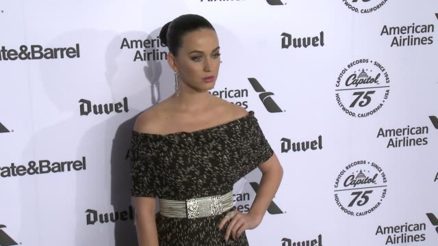 Katy Perry at Capitol Records Celebrates 75th Anniversary With Hollywood Gala on November 15 2016 in Hollywood California