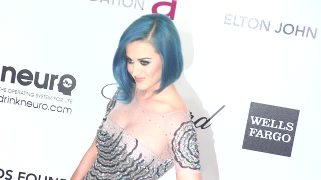 Katy Perry at Elton John Aids Foundation Celebrates 20th Annual Academy Awards Viewing Party on 2/26/12 in Hollywood CA