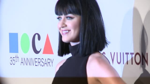 Katy Perry at MOCA's 35th Anniversary Gala Presented By Louis Vuitton At The Geffen Contemporary At MOCA on March 29 2014 in Los Angeles California