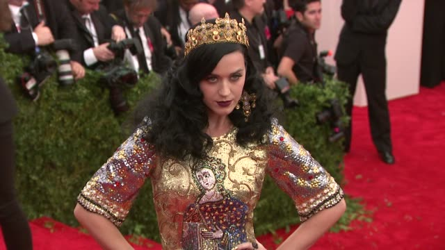 Katy Perry at 'PUNK Chaos To Couture' Costume Institute Gala at Metropolitan Museum of Art on May 06 2013 in New York New York