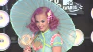 Katy Perry at the 2011 MTV Video Music Awards at Los Angeles CA