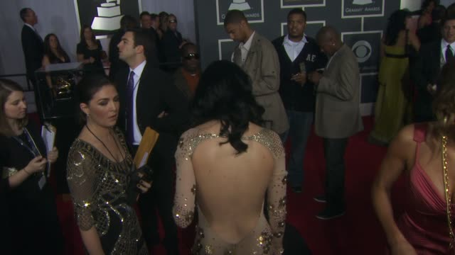 Katy Perry at the 52nd Annual GRAMMY Awards Arrivals Part 2 at Los Angeles CA
