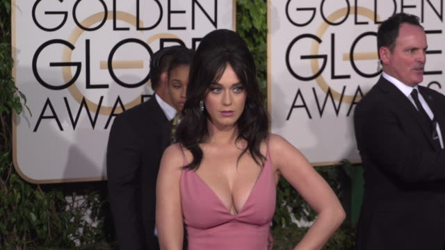 Katy Perry at the 73rd Annual Golden Globe Awards Arrivals at The Beverly Hilton Hotel on January 10 2016 in Beverly Hills California 4K