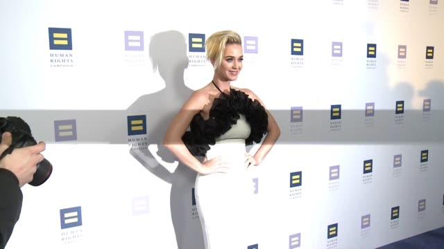 Katy Perry at The Human Rights Campaign 2017 Los Angeles Gala Dinner in Los Angeles CA