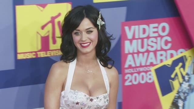 Katy Perry Katy at the 2008 MTV Video Music Awards at Los Angeles CA