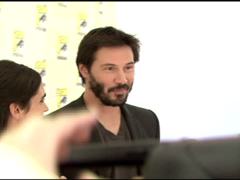 Keanu Reeves at the ComicCon 2008 at San Diego CA