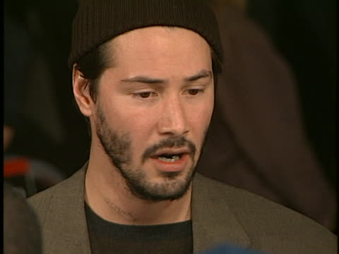 Keanu Reeves at the The Devils Advocate Premiere at Manns Village Theater Westwood in Westwood CA