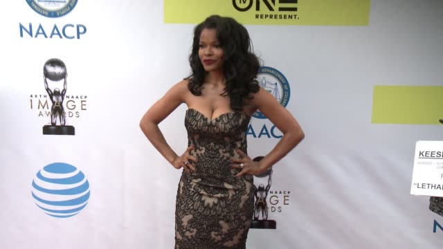 Keesha Sharp at 48th NAACP Image Awards at Pasadena Civic Auditorium on February 11 2017 in Pasadena California