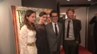 Keira Knightley Alicia Vikander Joe Wright and Domhnall Gleeson at the 'Anna Karenina' Special Screening in New York NY on 11/7/12