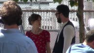 Keira Knightley and Adam Levine on location for the film 'Can a Song Save Your Life' Keira Knightley and Adam Levine on location for th on July 03...