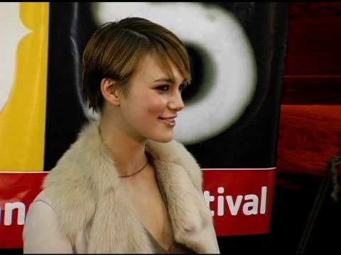 Keira Knightley at the 2005 Sundance Film Festival 'The Jacket' Premiere at the Eccles Theatre in Park City Utah on January 23 2005