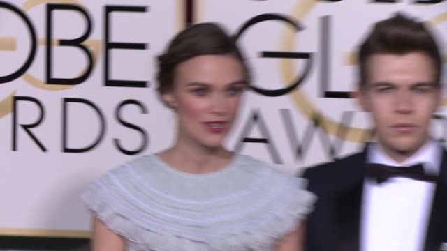 Keira Knightley at the 72nd Annual Golden Globe Awards Arrivals at The Beverly Hilton Hotel on January 11 2015 in Beverly Hills California