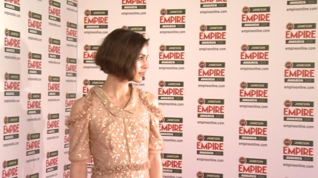 Keira Knightley at the Jameson Empire Awards at London England