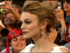 Keira Knightley at the Walt Disney Pictures' 'Pirates of the Caribbean Dead Man's Chest' World Premiere at Walt Disneyland Resort in Anaheim...