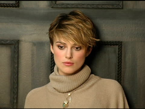 Keira Knightley of 'The Jacket' at the 2005 HP Portrait Studio Presented by WireImage at HP Portrait Studio in Park City Utah on January 22 2005