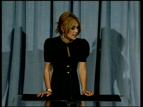 Keira Knightley on being young at the 2006 Annual Academy Awards Nominees Luncheon at the Beverly Hilton in Beverly Hills California on February 13...