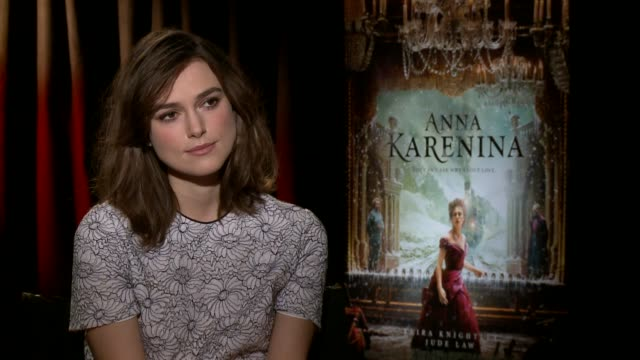 Keira Knightley on doing another period piece and on previous versions of 'Anna Karenina' on film at 'Anna Karenina' Los Angeles Press Junket in...