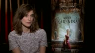 Keira Knightley on if it's easier or harder to play a character if they like them on working with Joe Wright and on Oscar buzz surrounding the film...