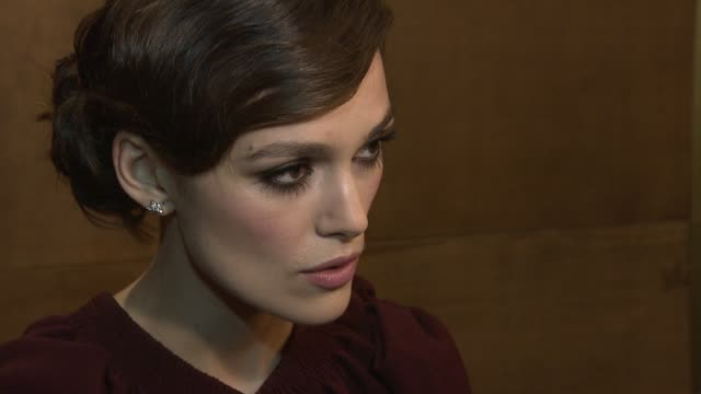 Keira Knightley on the challenges of her character how she approached it on the social history of the time the spanking scene at A Dangerous Method...