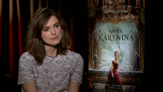 Keira Knightley on the character of Anna at 'Anna Karenina' Los Angeles Press Junket in Beverly Hills CA on 11/13/12