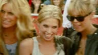Keith Richards with wife Patti Hansen and daughters Alexandra Richards and Theodora Richards at the 'Pirates of the Caribbean At World's End' World...