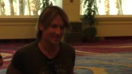 Keith Urban at the 51st Academy of Country Music Awards radio row at MGM Grand Las Vegas Hotel and Casino at Celebrity Sightings in Las Vegas on...