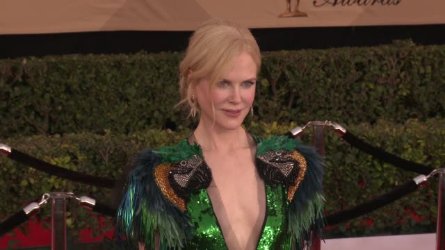 Keith Urban Nicole Kidman at 23rd Annual Screen Actors Guild Awards Arrivals in Los Angeles CA