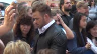 Kellan Lutz pulls a girl out of the crowd and dances with her on the outside set of the Good Morning America show in Times Square Celebrity Sightings...