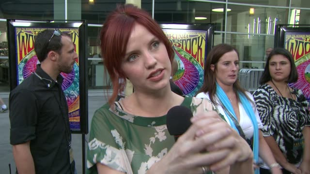 Kelli Garner on preparing for the film and working with Ang Lee at the 'Taking Woodstock' Los Angeles Premiere at Los Angeles CA