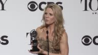 INTERVIEW Kelli O'Hara on her award and keeping up the momentum at 2015 at 2015 Tony Awards Press Room at Radio City Music Hall on June 07 2015 in...