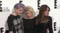 Kelly Osbourne Joan Rivers Melissa Rivers at E Upfront 2012 at Gotham Hall on April 30 2012 in New York New York