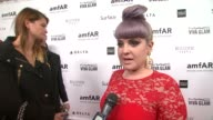 INTERVIEW Kelly Osbourne on the event at amfAR's Inspiration Gala Los Angeles in Los Angeles CA