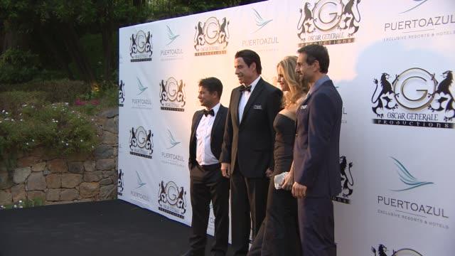 BROLL Kelly Preston John Travolta Jay Rutland Tamara Ecclestone Heidi Klum Alessandra Ambrosio Domenico Giannini at Puerto Azul Experience on May 21...