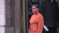 Kelly Rowland at Balmain Paris Fashion Week Pret a Porter 2016 on March 3 2016