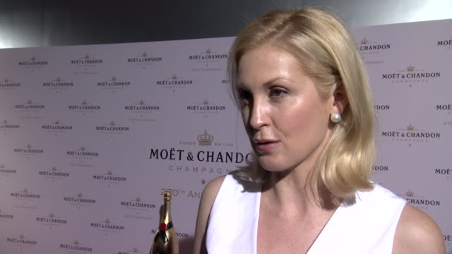 INTERVIEW Kelly Rutherford talks about her current work on her son wanting to DJ at Moet Chandon Celebrates Its 270th Anniversary with New Global...