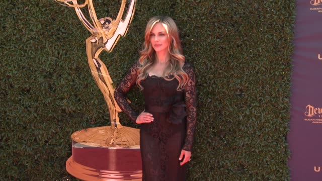 Kelly Sullivan at the 44th Annual Daytime Emmy Awards at Pasadena Civic Auditorium on April 30 2017 in Pasadena California