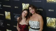 Kelsey Reinhard and Amy Landecker at Art Directors Guild 20th Annual Excellence In Production Design Awards at The Beverly Hilton Hotel on January 31...