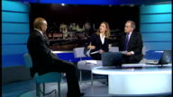 Ken Livingstone aide faces investigation into use of public funds ENGLAND London GIR INT Lee Jasper LIVE studio interview SOT saying he just provides...