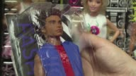Ken the all American muscular male with luxuriant hair is getting a makeover Barbie's iconic boyfriend is breaking out 15 new looks including man bun...