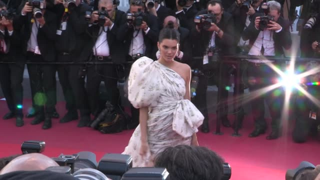 Kendall Jenner on the red carpet for the Premiere of 120 battements par minutes at the Cannes Film Festival 2017 Cannes France on Saturday May 20 2017