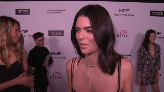 INTERVIEW Kendall Jenner on what it means to be honored as one of the most fashionable women in the world  what being fashionable/stylish means to...