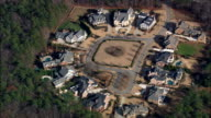 Kennesaw Suburbs  - Aerial View - Georgia,  Cobb County,  United States