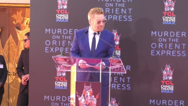 SPEECH Kenneth Branagh at TCL Chinese Theatre on October 26 2017 in Hollywood California