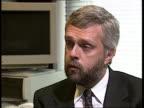 Kenneth Clarke tax statement ITN CMS Gavyn Davies intvwd SOT Clarke will abolish mortgage tax relief