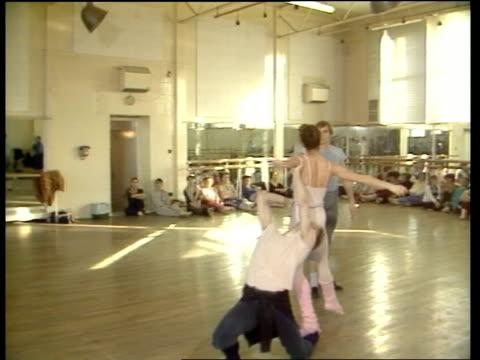 Kenneth MacMillan on his new ballet Valley of Shadows MS Alessandra Ferri at rehearsal