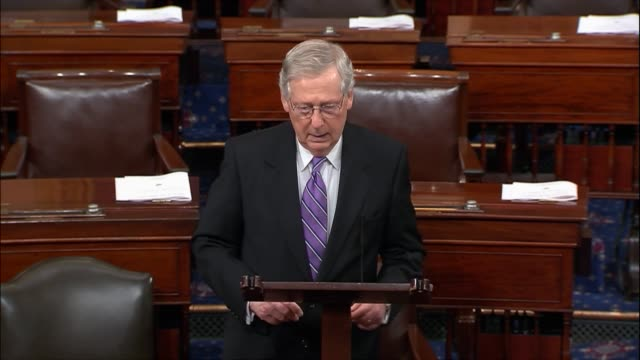 Kentucky Senator Mitch McConnell commence President Donald Trump for outstanding nominees to the federal judiciary everyone So far confirmed by a...